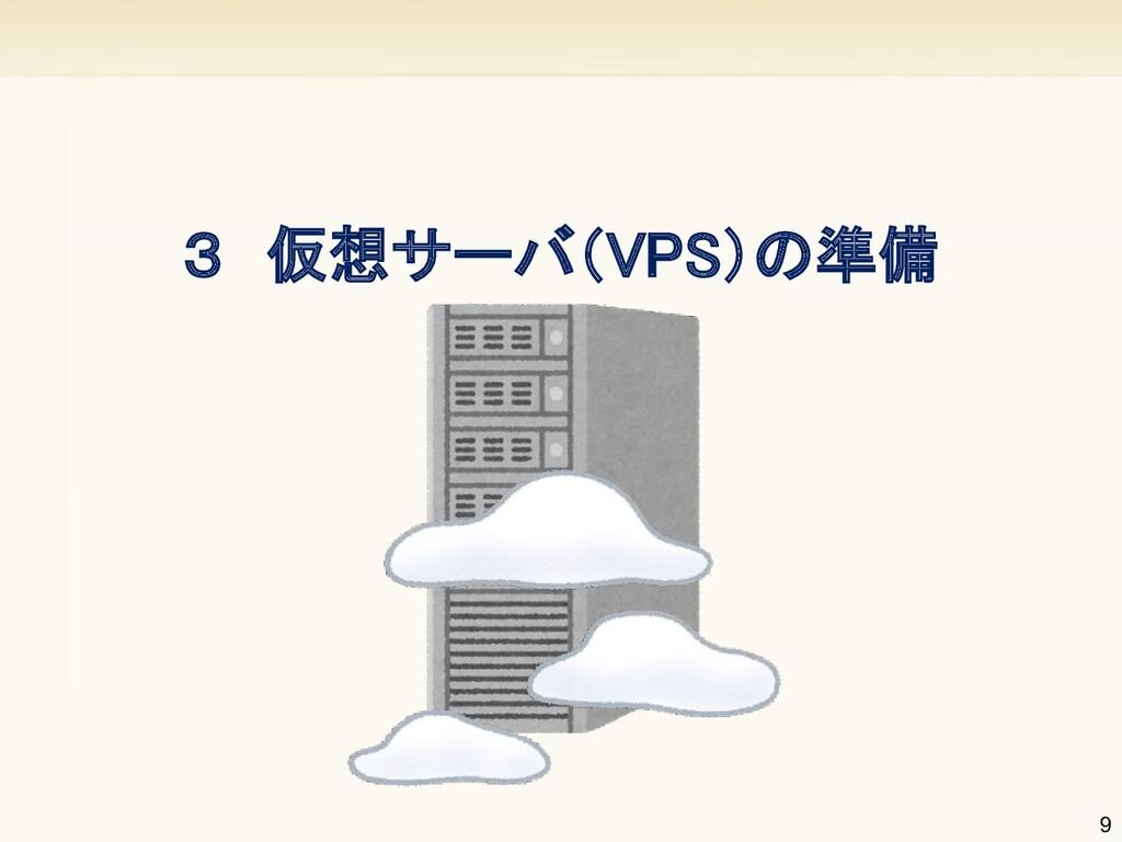 9 3 仮想サーバ(VPS)の準備