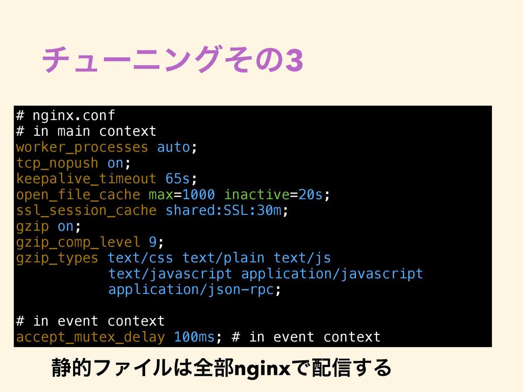 νϡʔχϯάͦͷ3 # nginx.conf # in main context worker...