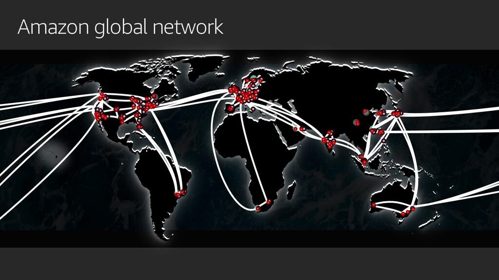 Amazon global network