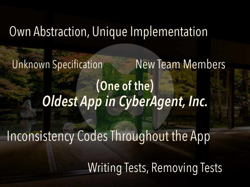 (One of the) Oldest App in CyberAgent, Inc. Ow...