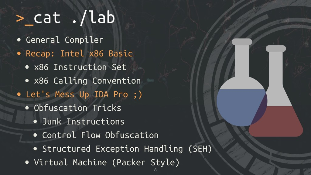 • General Compiler • Recap: Intel x86 Basic • x...