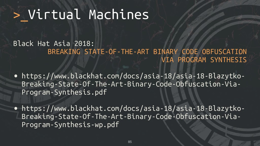 Black Hat Asia 2018: BREAKING STATE-OF-THE-ART ...