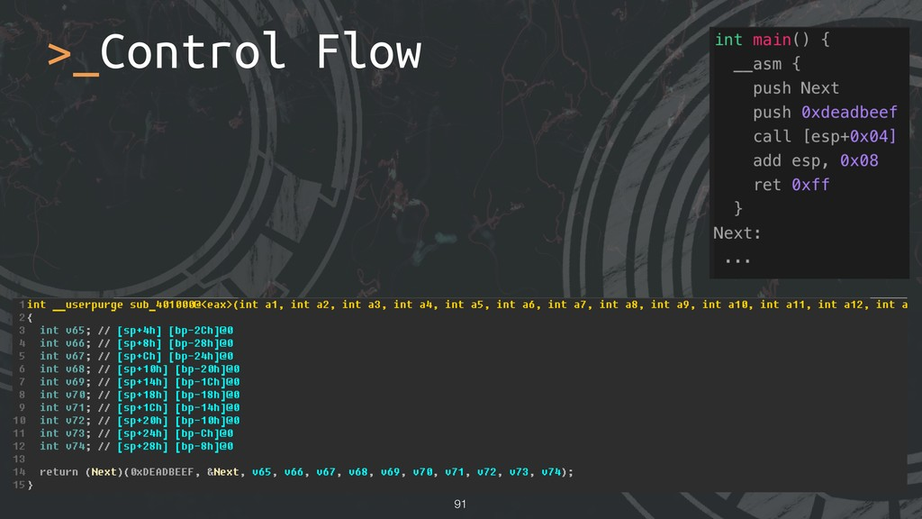 !91 >_Control Flow
