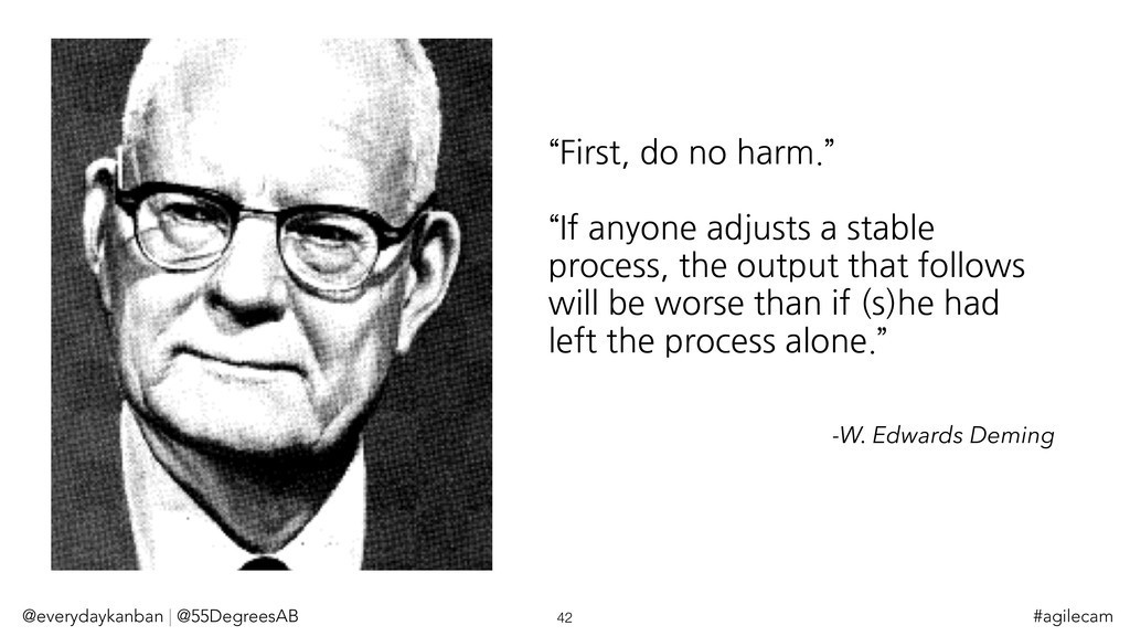 """""""First, do no harm."""" """"If anyone adjusts a stabl..."""