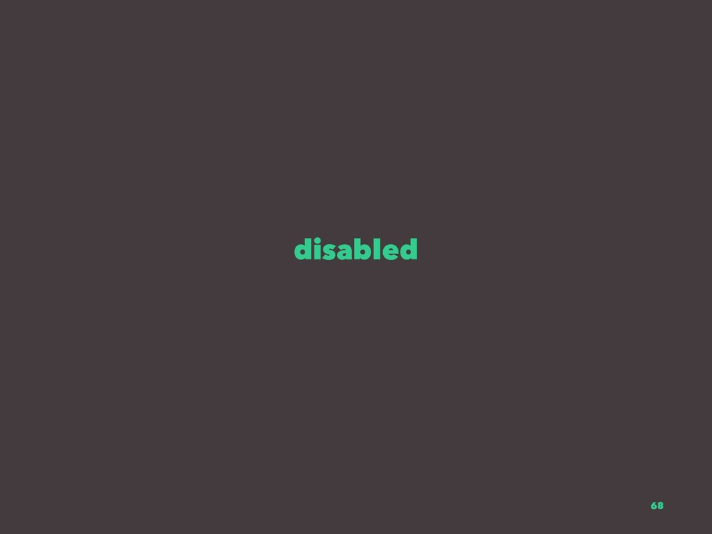disabled 68