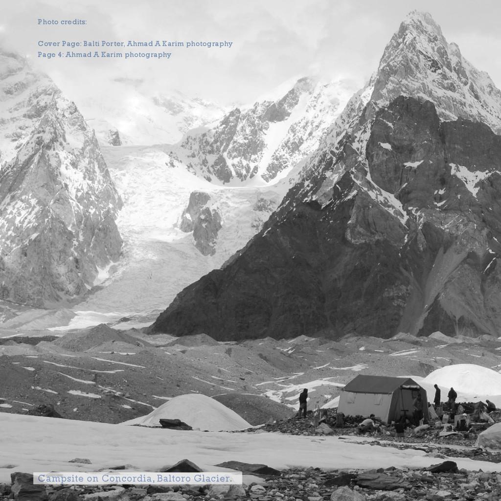Photo credits: Cover Page: Balti Porter, Ahmad ...