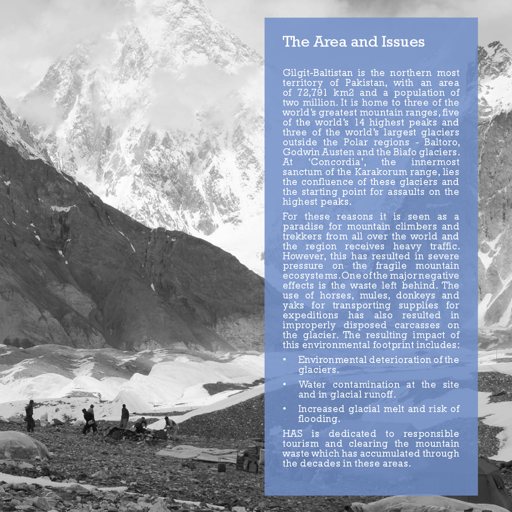 The Area and Issues Gilgit-Baltistan is the nor...