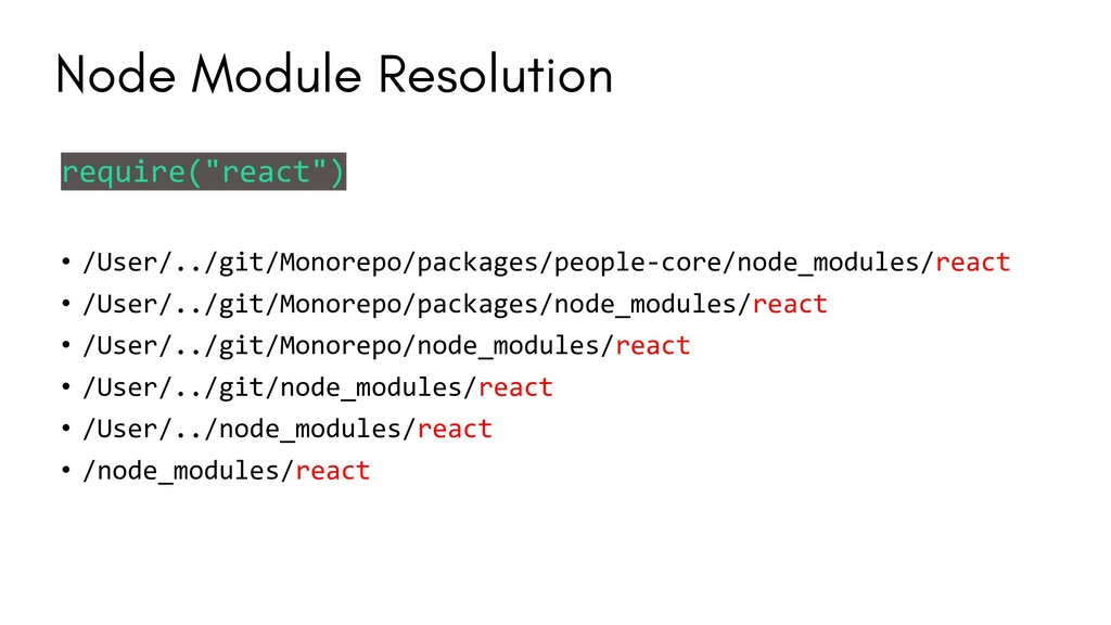 "require(""react"") • /User/../git/Monorepo/packag..."