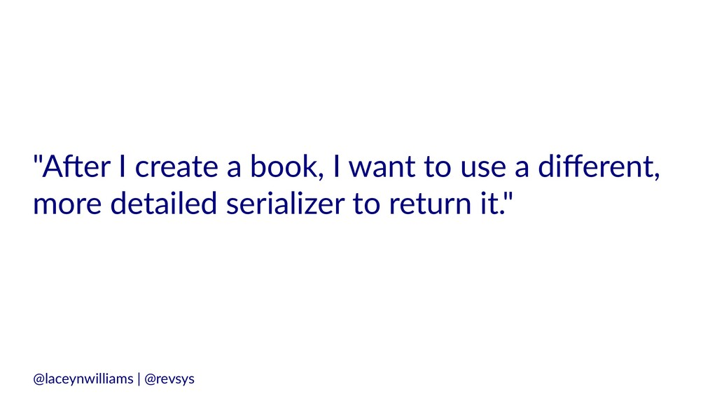 """""""A#er I create a book, I want to use a different..."""