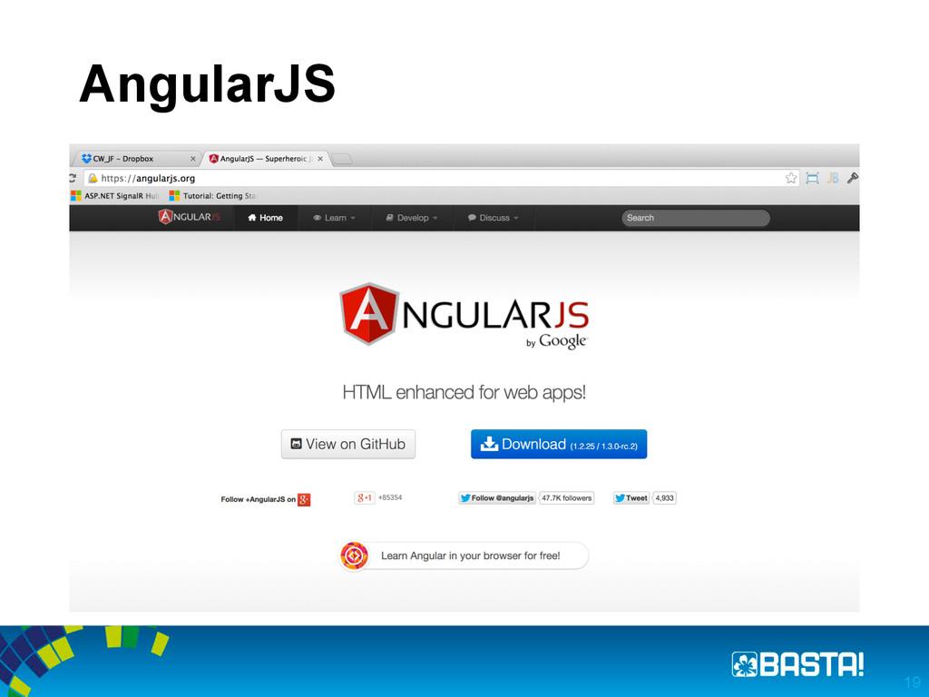 AngularJS 19