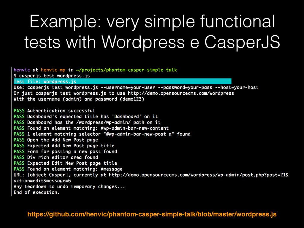 Example: very simple functional tests with Word...