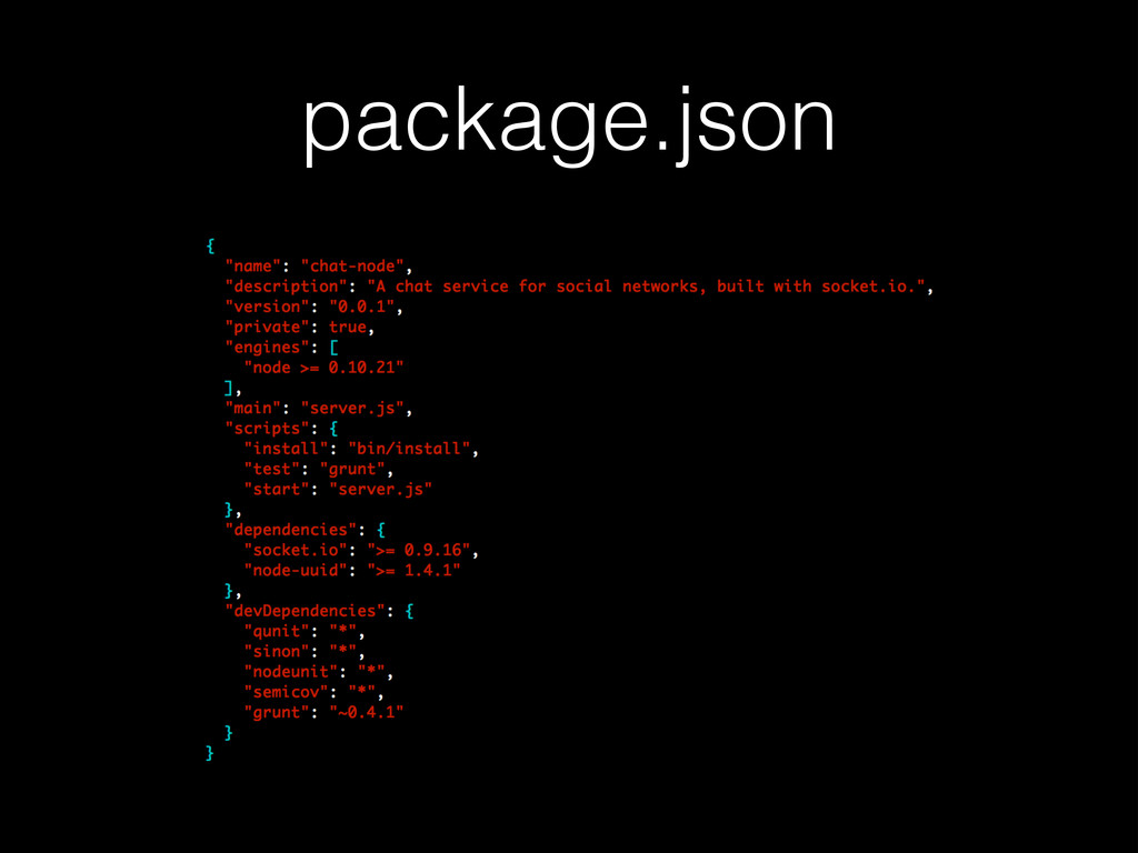 package.json