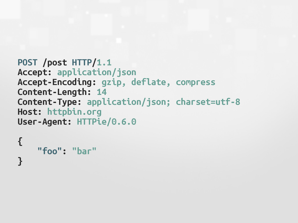 POST /post HTTP/1.1 Accept: application/json Ac...