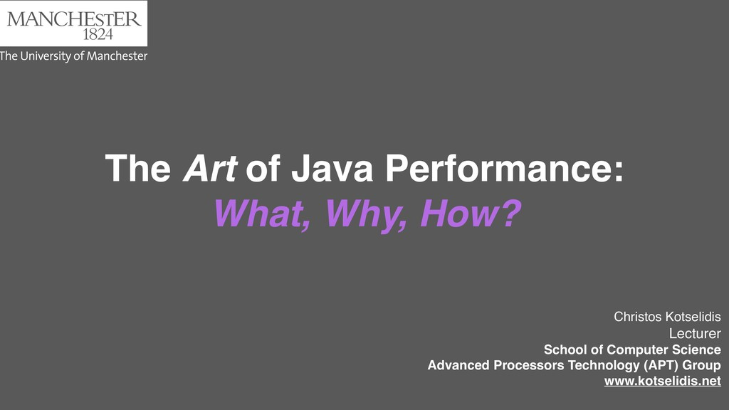 The Art of Java Performance: What, Why, How? Ch...