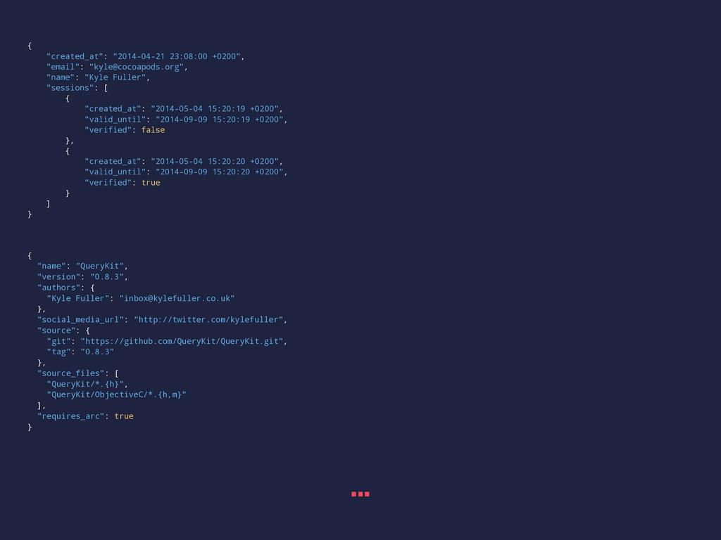 """{ """"created_at"""": """"2014-04-21 23:08:00 +0200"""", """"e..."""