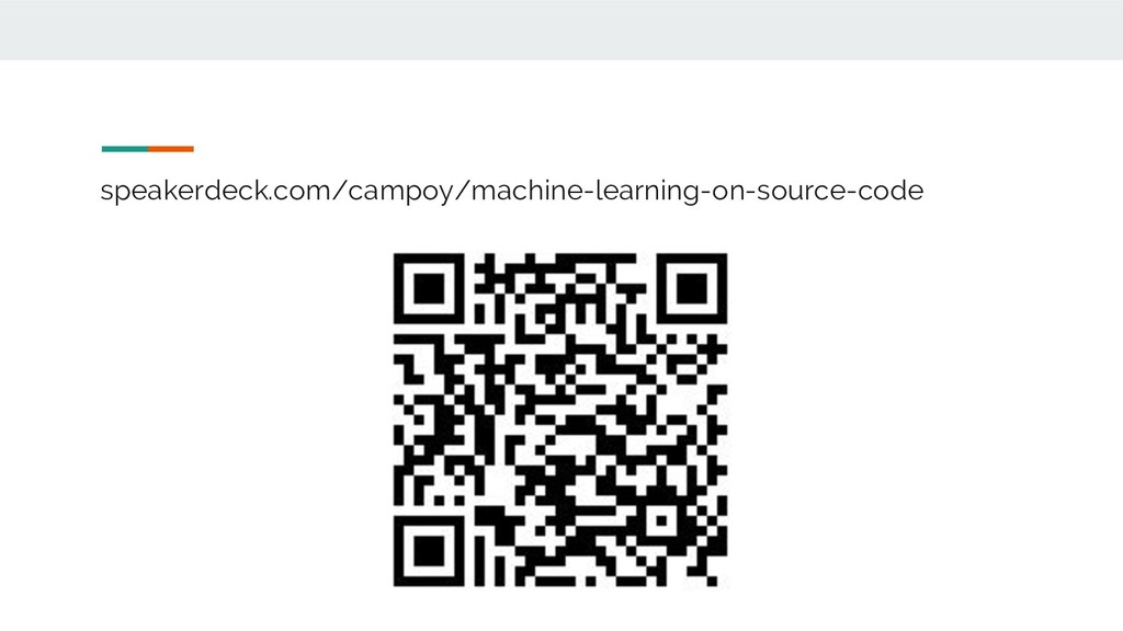 speakerdeck.com/campoy/machine-learning-on-sour...