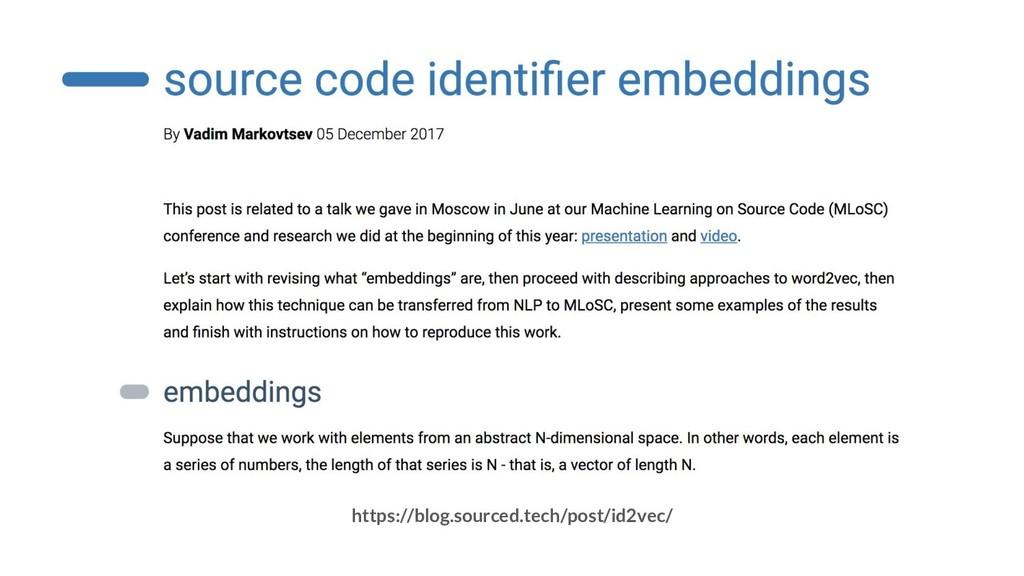 https://blog.sourced.tech/post/id2vec/