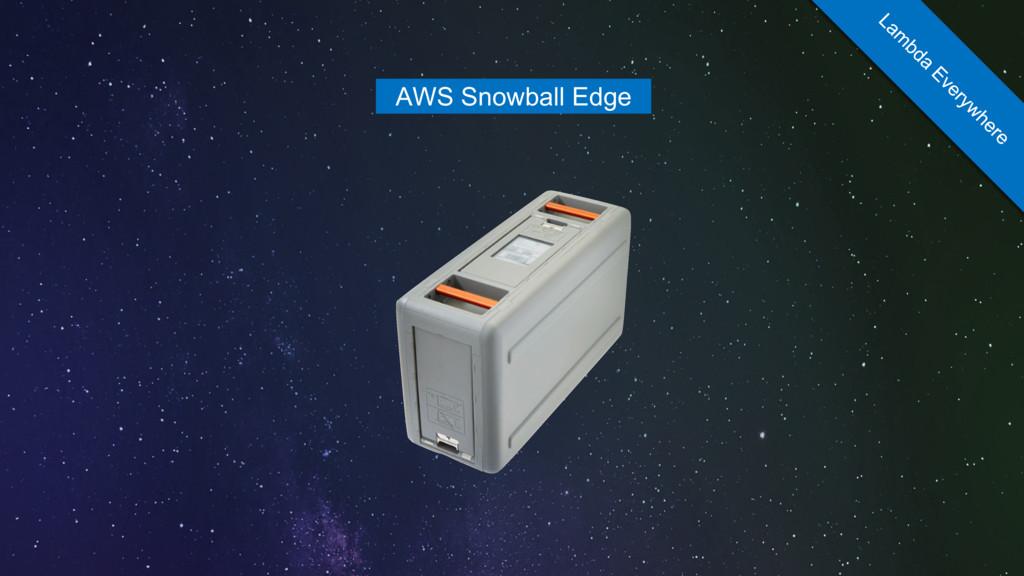 AWS Snowball Edge