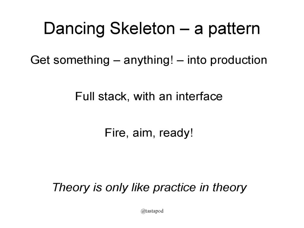 @tastapod Dancing Skeleton – a pattern Get some...