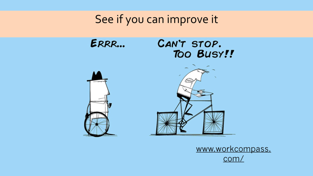 See if you can improve it www.workcompass. com/