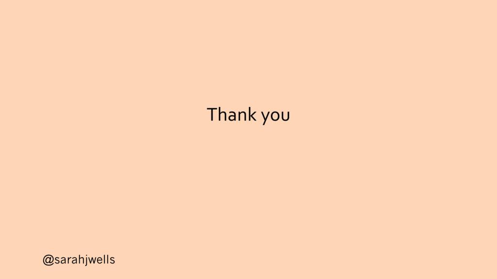 @sarahjwells Thank you