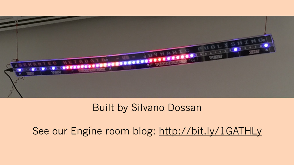 Built by Silvano Dossan See our Engine room blo...