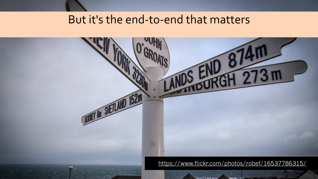 But it's the end-to-end that matters https://ww...
