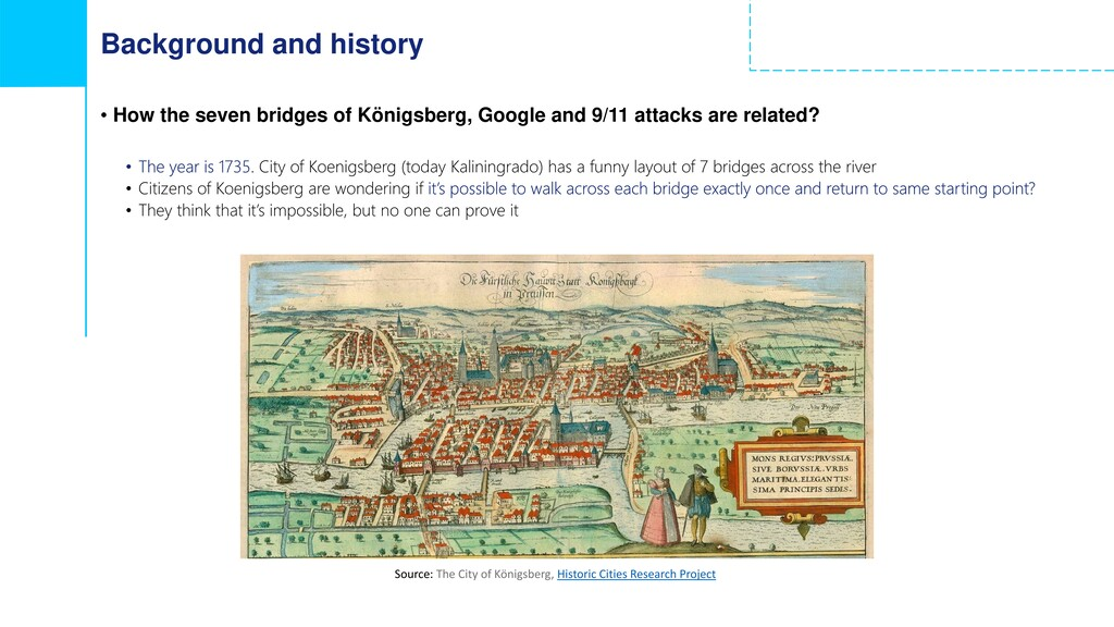 Background and history • How the seven bridges ...