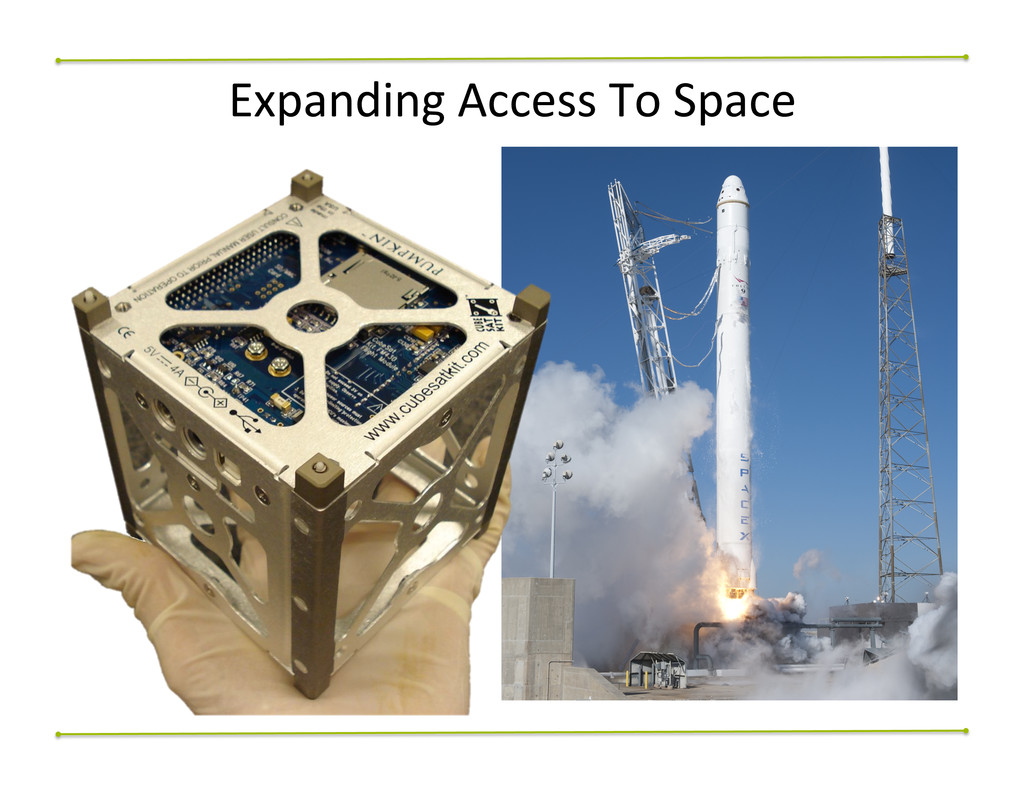 Expanding$Access$To$Space$