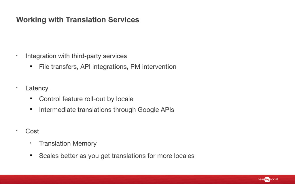Working with Translation Services § Integration...