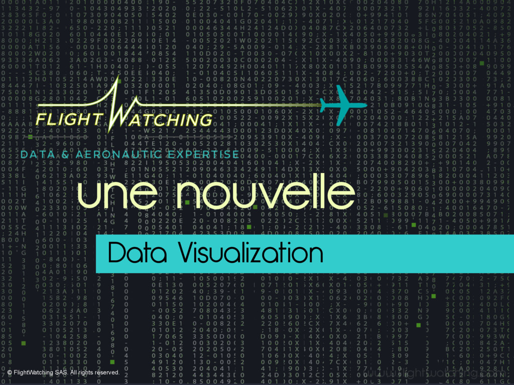 www.flightwatching.com Data Visualization une n...