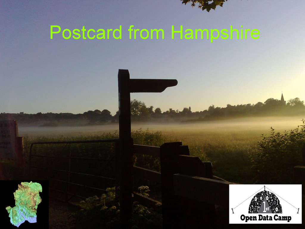 Postcard from Hampshire