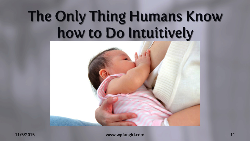 The Only Thing Humans Know how to Do Intuitivel...