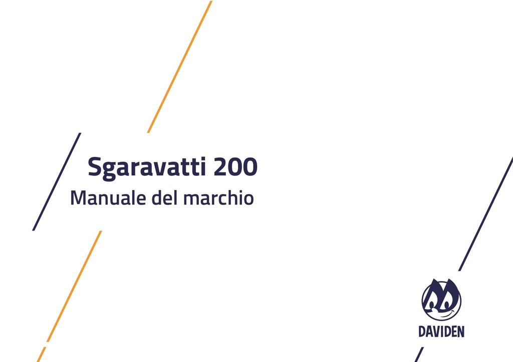 Sgaravatti 200 Manuale del marchio