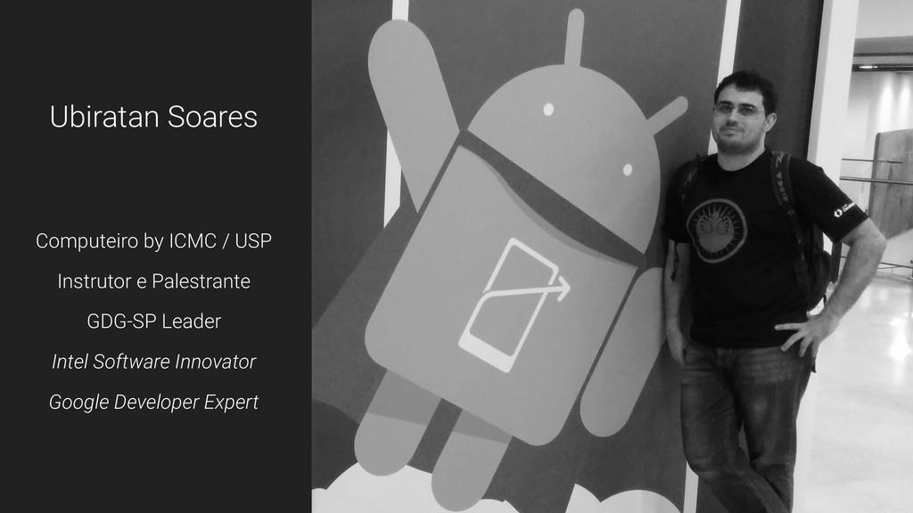 Ubiratan Soares Computeiro by ICMC / USP Instru...