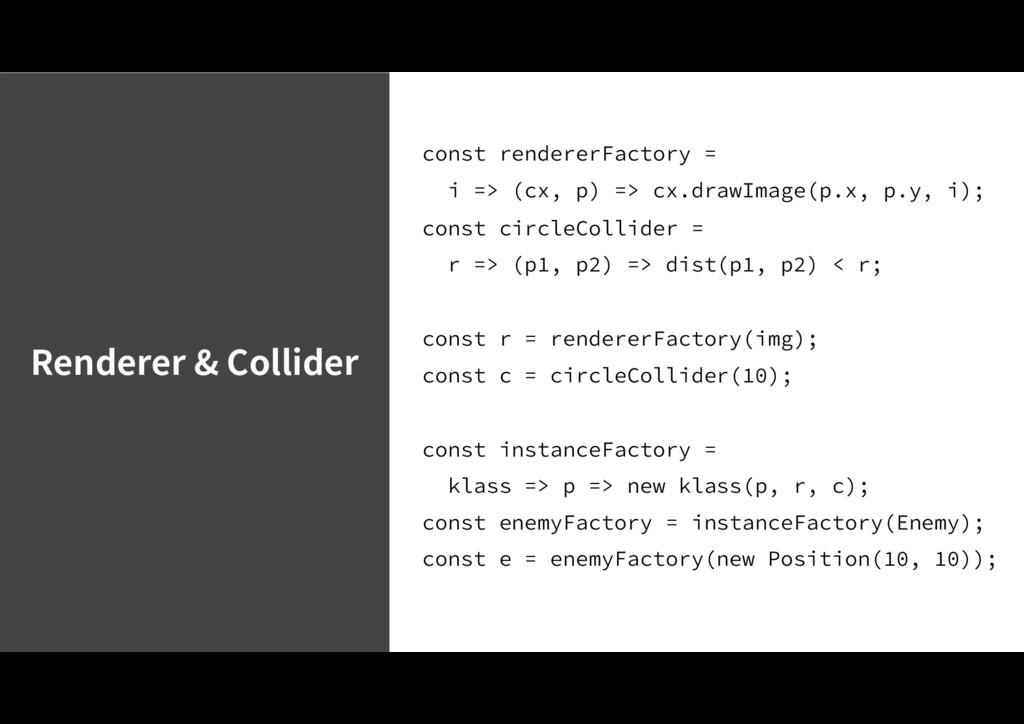 Renderer & Collider DPOTUSFOEFSFS'BDUPSZ ...