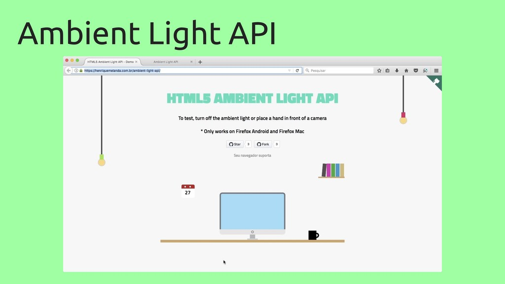 Ambient Light API