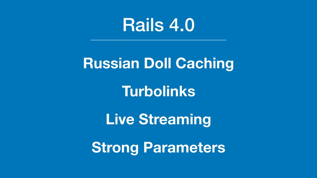 Rails 4.0 Russian Doll Caching Turbolinks Live ...