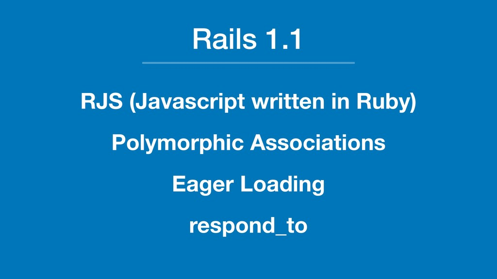 Rails 1.1 RJS (Javascript written in Ruby) Poly...