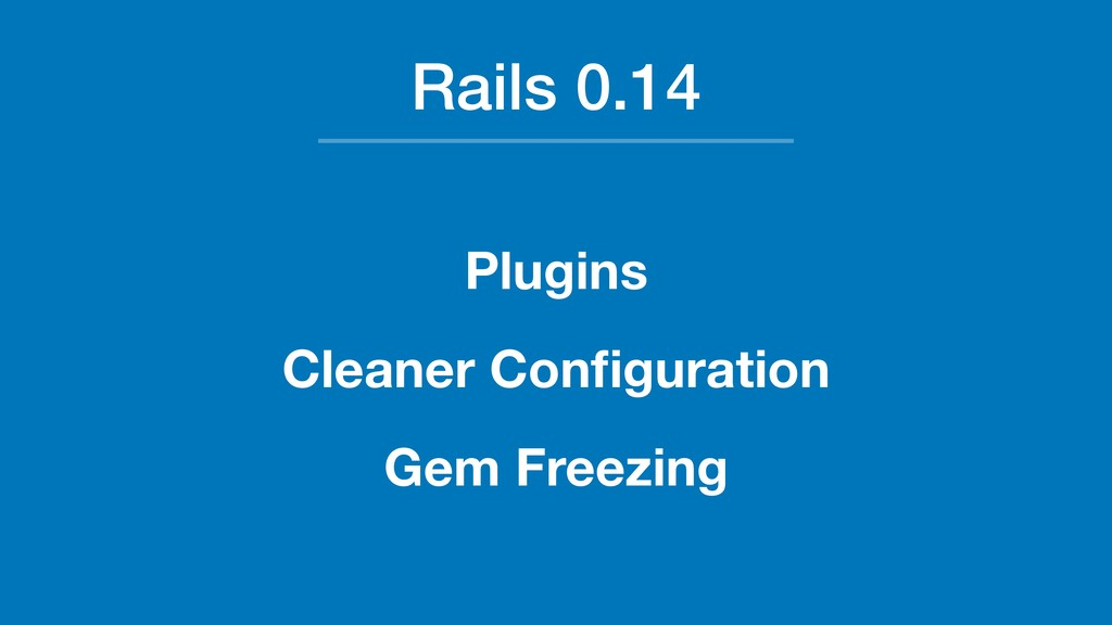 Rails 0.14 Plugins Cleaner Configuration Gem Fre...