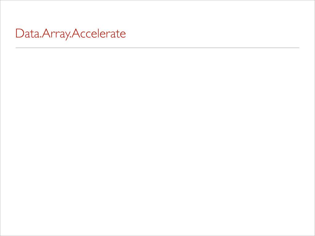 Data.Array.Accelerate