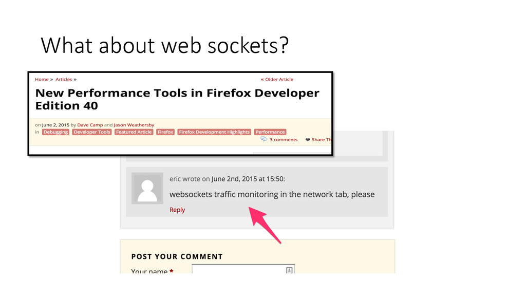 What about web sockets?