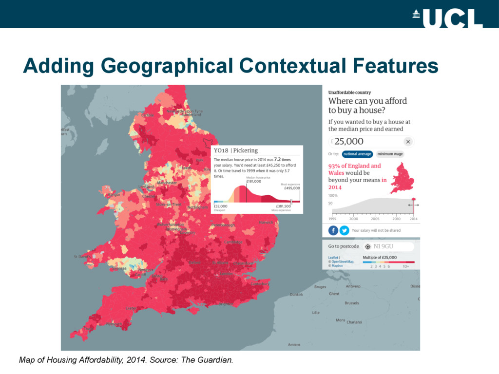 Adding Geographical Contextual Features Map of ...