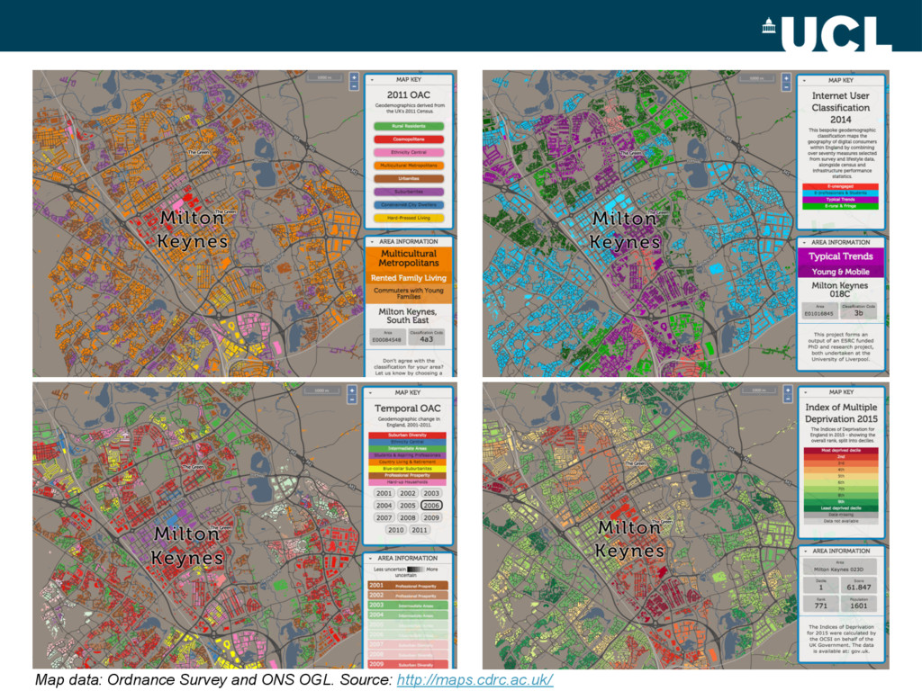 Map data: Ordnance Survey and ONS OGL. Source: ...