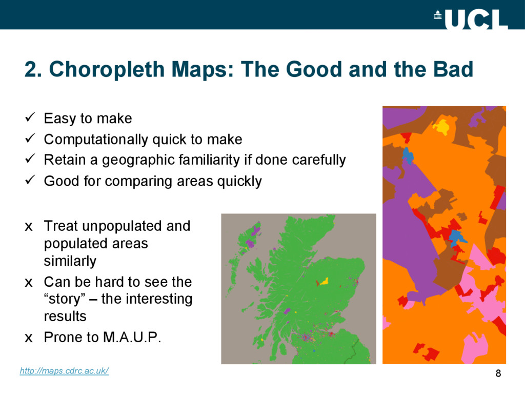 2. Choropleth Maps: The Good and the Bad x Tre...