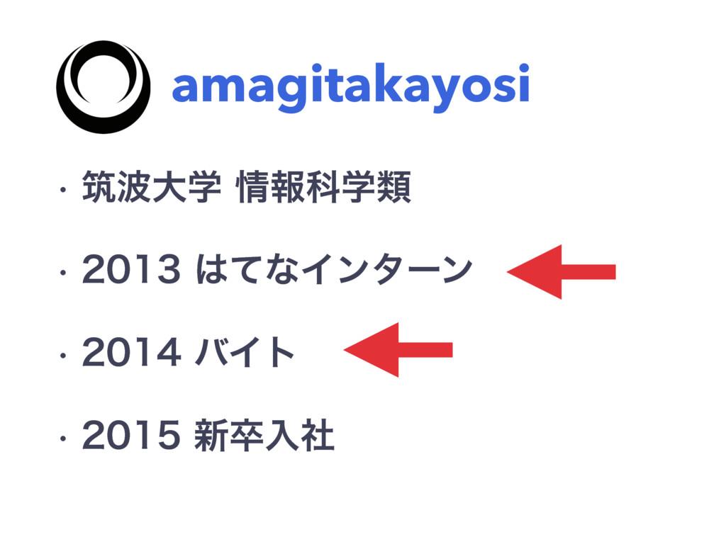amagitakayosi w ஜେֶใՊֶྨ w ͯͳΠϯλʔϯ w ...