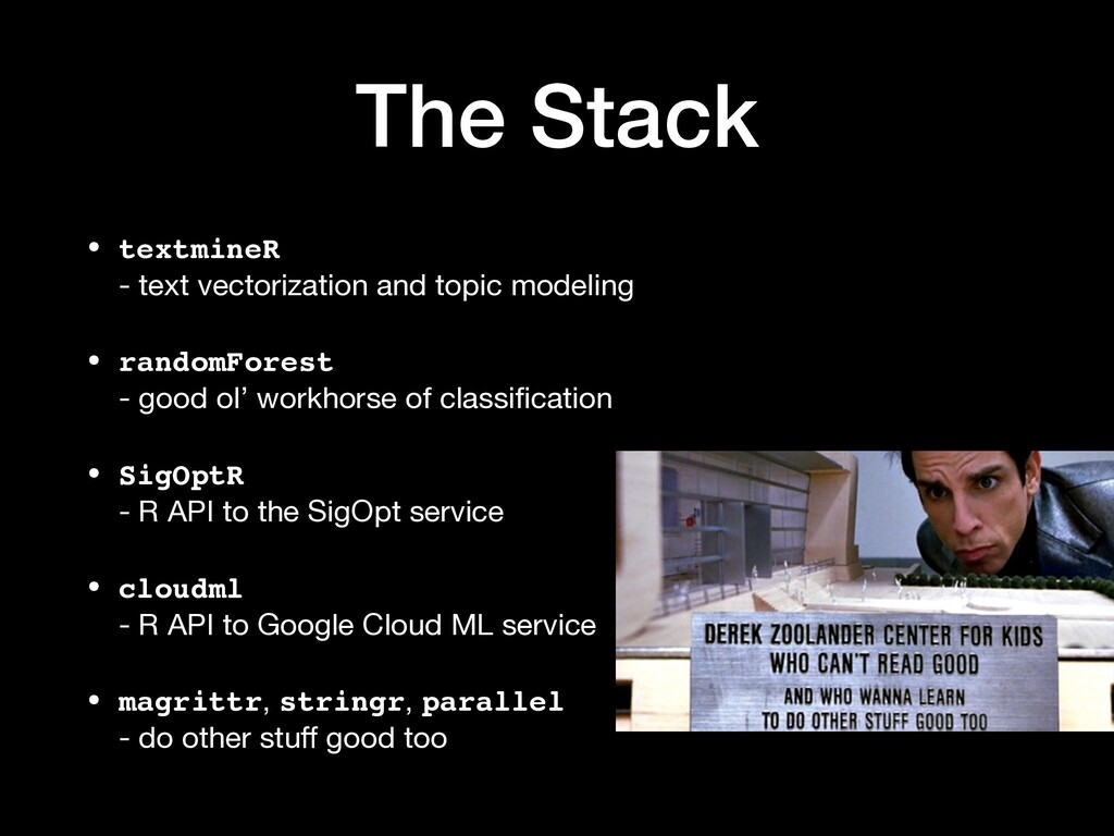 The Stack • textmineR  - text vectorization an...