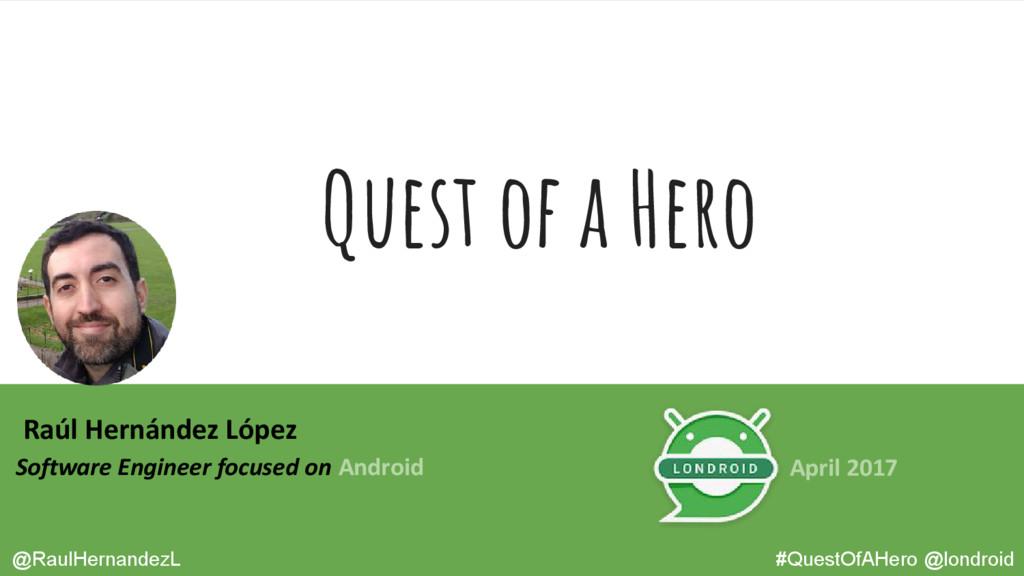 Raúl Hernández López Software Engineer focused ...