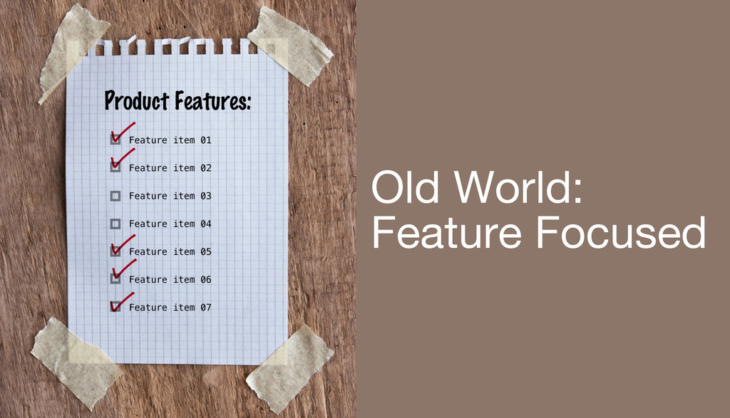 Old World: Feature Focused