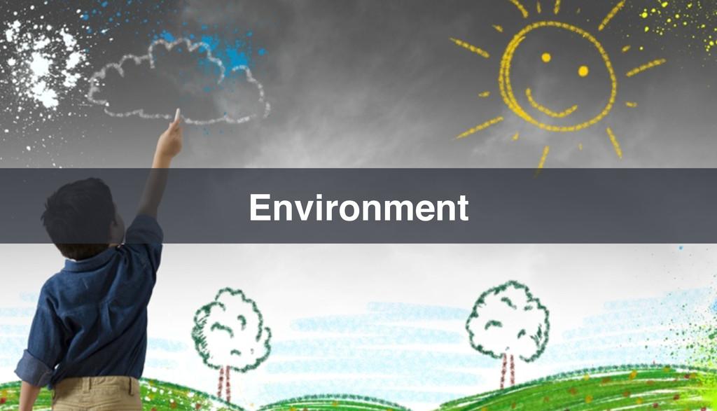Environment!